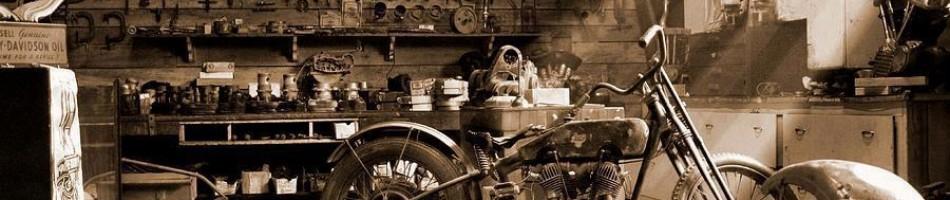 Motocykl w serwisie